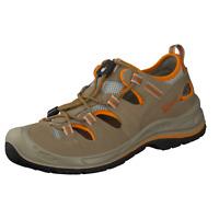 GRISPORT Outdoor Marken Schuhe Halbschuh Echt Leder Sommer Walking beige Gr. 41