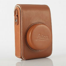 Genuine Leather Digital Camera Case Bag For Leica D109 D-LUX Typ 109 Pouch Cover