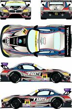 1/24 Decal BMW Z4 GT3 #60 Japanese Super GT 2014 for Fujimi