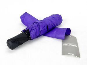 """REVA Compact 41"""" Travel Umbrella, One Push Open/Close, 3 Color Choices, #UM7102"""