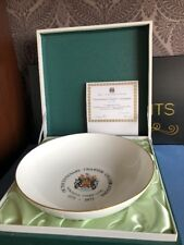 Minton Newcastle Under Lyme Octocentenary Charter Celebrations Bowl Boxed 149