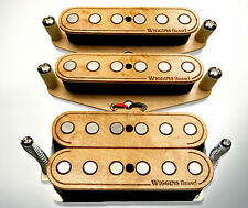 Wiggins Brand, hand wound HSS Strat set, made to order