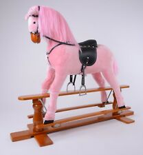"""Brand New LUXURIOUS EXTRA LARGE Rocking Horse """"PRINCESS"""" SIZE XL age 6 -13 years"""