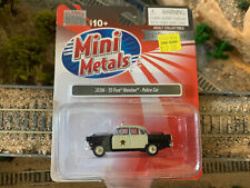 HO Scale 1:87 Mini Metals '55 1955 FORD Mainline Police Car #30396 NEW IN BOX