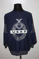 Vintage Jostens USAF Air Force Falcons Big Logo Blue Crewneck Sweatshirt XL