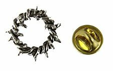 6030513 Crown of Thorns Lapel Pin Tie Tack Brooch Jesus Crucifix Crucify Symbol
