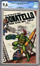 Donatello, Teenage Mutant Ninja Turtle  #1  CGC  9.6  NM+  white pages