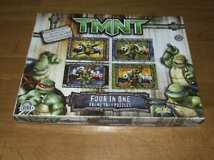 Teenage Mutant Ninjah Turtles - Four In One Frame Tray Puzzles - Complete