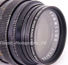 43mm FOTGA Slim Wide Band UV Filter for E43 SUMMILUX ASPH 6-BIT SUMMILUX 1.4/50