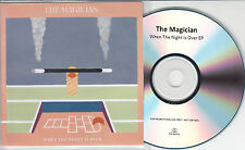 THE MAGICIAN When The Night Is Over 2013 UK 3-track promo test CD