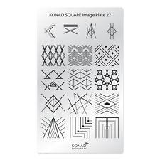 Konad Stamping Nail Art Square Image Plate 27