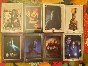 Cartes Harry Potter Bienvenue à Poudlard