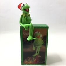 Vintage 1980 Hallmark Kermit The Frog Stocking Hanger with Box