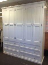 Wardrobe,Anzac,2100x2000 with drawers WHITE