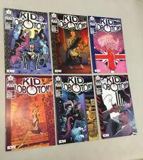 Kid Lobotomy 1-6 Complete Set 1 2 3 4 5 6 IDW Comics 2017