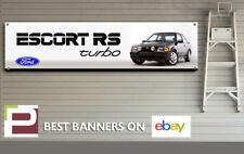 FORD Escort RS Turbo banner per Officina, Garage, ufficio, showroom, Mk4 ESCORT