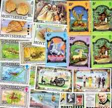 Montserrat 200 timbres différents