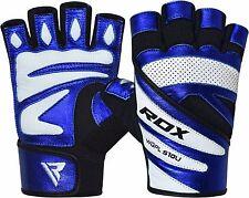 RDX Fitness Handschuhe Leder Gewichtheben Sports Gym Kraftsporthand DE