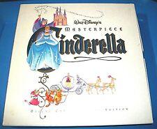 Walt Disneys Masterpeice Cinderella Deluxe Cav Laser Disc Edition Pre-Owned