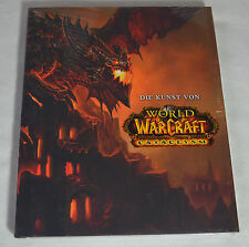 World of Warcraft-Cataclysm artbook-Wow-The Art of OVP-alemán/German