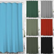 Duschvorhang Textil Badewannenvorhang Anti Schimmel  120/180/240x200 inkl Ringe