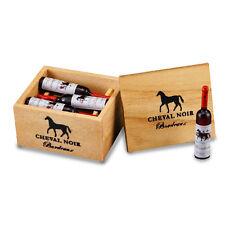 Reutter Porzellan Weinkiste mit Flaschen / Case of Red Wine Puppenstube 1:12