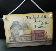 Wooden Heart Decorative Plaques & Signs