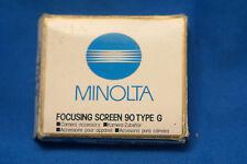 Minolta Number 90 Type G focusing Screen