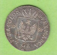 La Prusse 4 centimes 1797 a Toll reçu mieux que VZ nswleipzig