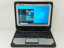 "Panasonic ToughBook CF-20 Laptop m5-6Y57 1.10GHz 8GB RAM 10.1"" 128GB SSD Used"