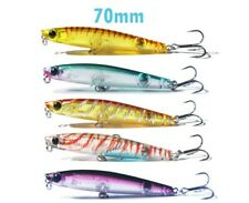 Topwater stickbait lure 70mm bream whiting popper, resembles bassday sugapen