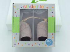 Stride Rite Baby Girls' Crib Pink Dream - Rosebud - 0-3 months