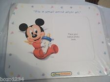 IT'S A SMALL WORLD AFTER ALL DISNEY BABIES TOYS R US MICKEY MOUSE PICTURE FRAME
