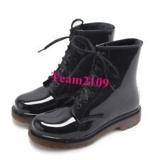 Oxfords mens Warproof Patent Lace Up Riding Anti-ski Shoes Ankle Boots Vogue Hot