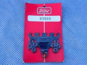 Vintage NOS Mallory 29203 Spark Plug Wire Separators 2-4 Wire SHORT 60's HOT ROD