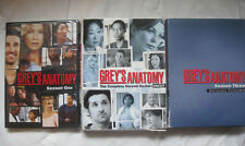 Grey's Anatomy~Complete First Three Seasons 1, 2, 3 One Two Three ~New~DVD~LBDVL