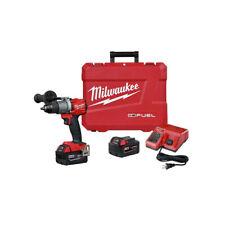 """Milwaukee 2804-22 18V 1/2"""" Hammer Drill/Driver Kit Li-Ion Brushless Cordless New"""
