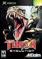 Turok Evolution (Original Microsoft Xbox, 2002) Video Game Complete CIB Tested