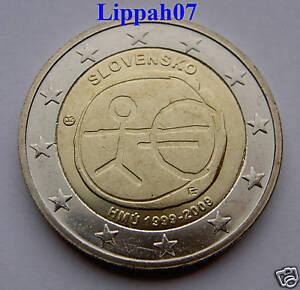 Slowakije 2 euro 10 jaar EMU 2009 UNC