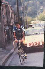 FRANCESCO MOSER Cyclisme ciclismo World Champion du Monde Chateau d'AX cycliste