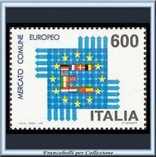 1992 Italia Repubblica Mercato Comune Europeo n. 2031 Nuovo Integro **