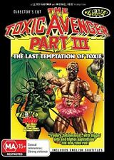 The Toxic Avenger - Part III : The Last Temptation Of Toxie (DVD, 2010)