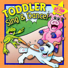 Toddler Sing & Dance by Aardvark Kids Music (CD, Twin Sisters)
