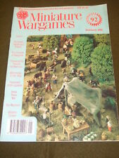 MINIATURE WARGAMES - ECO-WARRIORS - JAN 1991 # 92