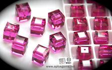 Authentic #5601 Swarovski Crystal Cube Square Beads 6mm pick colors 10pcs SALE