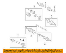 Chevrolet GM OEM Traverse Axle Shaft Joints-Front-Intermed Shaft C-clip 22727024