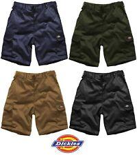 Mens Dickies Redhawk Cargo Shorts Work Casual Black Navy Khaki WD834 Size 28-46