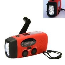 Emergency Radio Solar Hand Crank AM/FM/NOAA LED Flashlight Phone Charger  GA