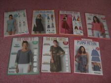 Job Lot of 7 Simply Sewing Patterns, new & uncut.