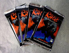 Rage 4 Unlimited Booster Packs Werewolf : The Apolcalypse White Wolf 1995 . Z2